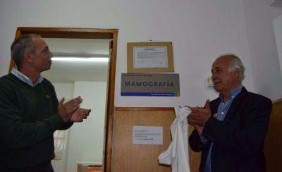 Ponen en funcionamiento la sala de mamografía en Santa Clara del Mar