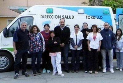 Olivera recibió una ambulancia 0km