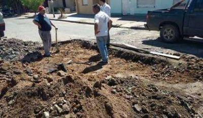 Empezaron los trabajos de bacheo en la ciudad