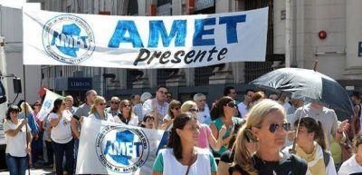 Según AMET, hubo un 76 por ciento de acatamiento al paro de este miércoles