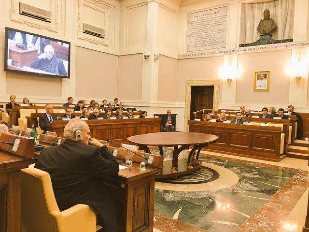 Referentes argentinos participan de taller sobre narcotráfico en el Vaticano