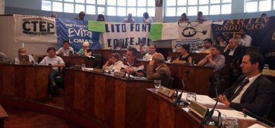 El Concejo de Lomas de Zamora aprobó el Presupuesto 2017