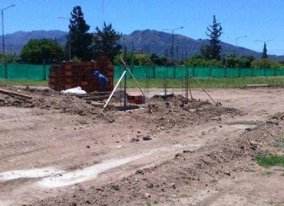 Comenzó la construcción de la Plaza Rector Mauricio López