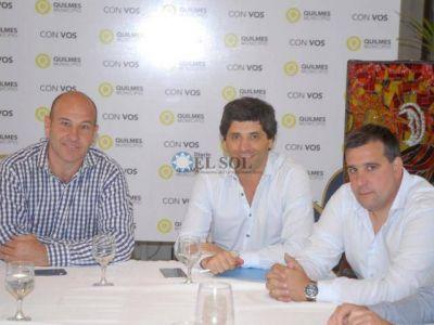 Molina se reunió con García De Luca por el desarrollo de las obras