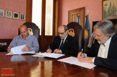 El Municipio de Quilmes y la UNLP trabajan en conjunto