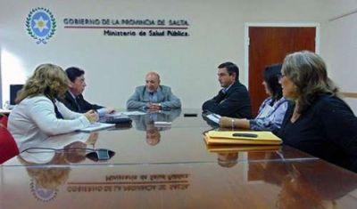 Mascarello se reunió con diputados para poder dar curso a los reclamos en Salud