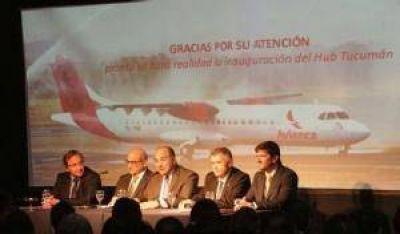 Tucumán será la tercera ciudad del país en vuelos directos