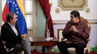 Maduro se reunió con Rodríguez Zapatero y ratificó su compromiso a continuar el diálogo