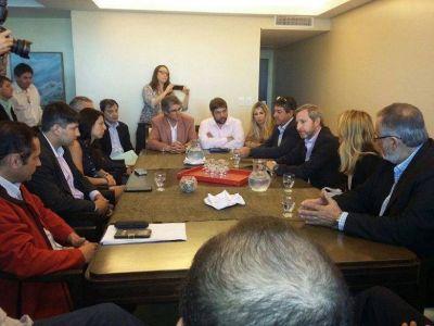 """IBARRA: """"Le pudimos transmitir a Frigerio la realidad de nuestras localidades en materia de obra pública"""""""