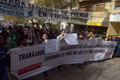 Trabajadores de prensa irán a los puentes por aumento salarial