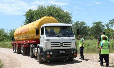 La Agencia de Residuos local fiscalizó la actividad de camiones atmosféricos