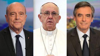 De cómo el papa Francisco se volvió clave en la definición del próximo presidente de Francia