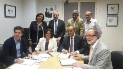 Potrero del Clavillo: Corpacci firmó el acta acuerdo