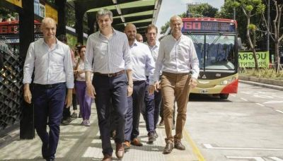 Larreta inauguró el Metrobus Norte y el Centro de Transbordo Pacífico
