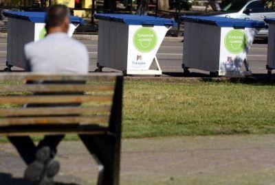 Tunuyán inicia el cambio de recolectores por contenedores