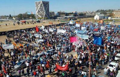 El SEP marcha al Centro Cívico contra el bono de fin de año