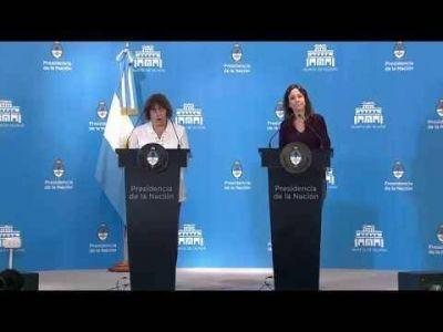 Macri y Vidal recibieron a familiares de víctimas de femicidios
