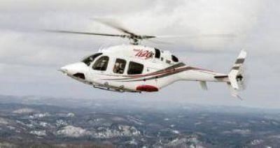 Manzur promulgó la ley para comprar el nuevo helicóptero