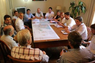 Tras la reunión con el Ejecutivo, el Concejo escuchó el reclamo de la Cámara por la presión tributaria