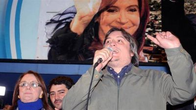Máximo Kirchner y Larroque cruzaron duras críticas con Bossio