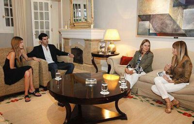 Juan Manuel Urtubey estuvo con Gabriela Arias Uriburu