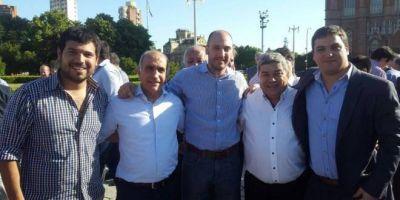 Dirigentes dolorenses acompañaron a Salvador en la asunción al frente de la UCR bonaerense