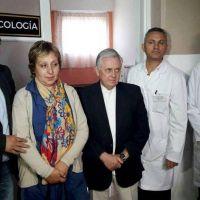 Olaeta inauguró sala de Oncología en el Hospital Santa Francisca Romana