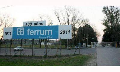Denuncian que la empresa Ferrum suspendió a casi 500 empleados