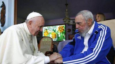 "Castro; el dolor de Bergoglio: ""Triste noticia"""