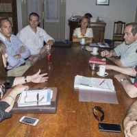 Reunión de la Comisión de Salud del Concejo Deliberante e integrantes de la Dirección de Capacitación de la Región IX