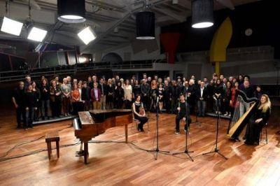 """El video """"Memoria AMIA"""" fue proyectado en el marco de los Grammy Latinos"""