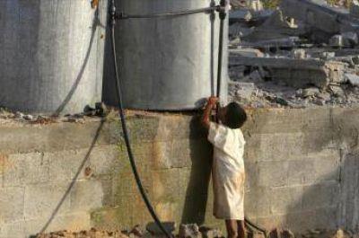 El 90% de la población de Gaza carece de agua potable