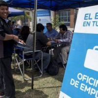 Leve reactivación del empleo, pero hay menos ocupados que en 2015