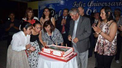 Se inauguraron obras por el 46º aniversario de Colonia El Simbolar