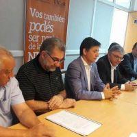 UNLaR. Calderón y gremios acordaron efectivizar 1.400 docentes