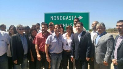 Casas habilitó la autopista Nonogasta-Chilecito