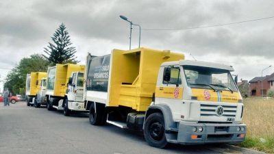 Presentaron los nuevos camiones recolectores de basura
