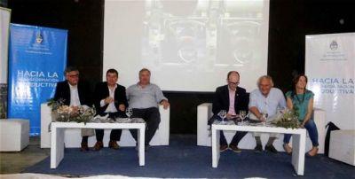 Nación y provincia presentaron beneficios y herramientas para fortalecer el desarrollo de las PyMEs en Azul
