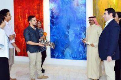 El arte une Colombia y Abu Dhabi