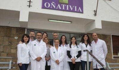 Premian al hospital Oñativia por el diagnóstico en cáncer de tiroides
