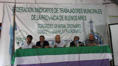 Los municipales provinciales se reunieron en Mar del Plata