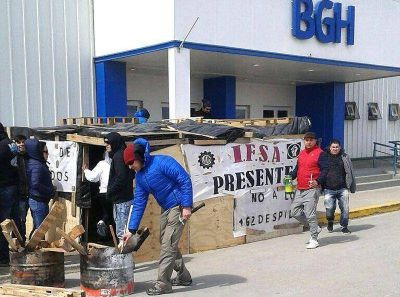 Empleados de IFSA se preparan para afrontar una semana difícil