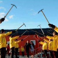Docentes antárticos se casaron en la base Esperanza