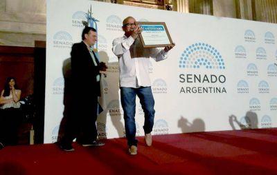 Orgullo Panadero: Abel Frutos fue premiado en los Comuna 2016