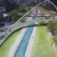 Así será el nuevo puente que cruzará el Suquía