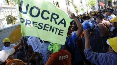 Elecciones en la UOCRA: integrantes de la lista opositora realizaron una manifestación