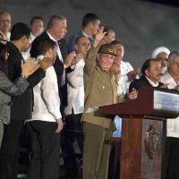 El régimen cubano despidió al dictador Fidel Castro con un acto en la Plaza de la Revolución