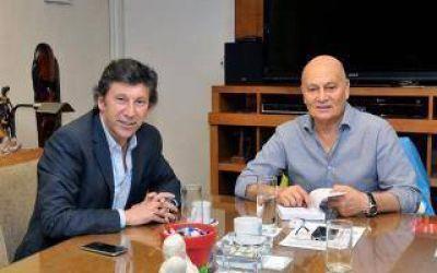 Elecciones 2017: El Momo Venegas anunció la incorporación de Gustavo Posse al Partido Fe