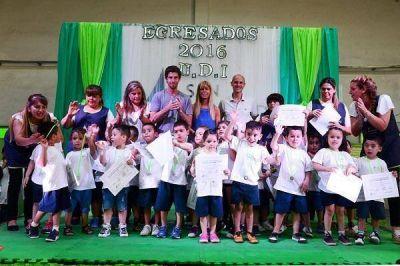 San Fernando festejó el fin de ciclo de las Unidades de Desarrollo Infantil