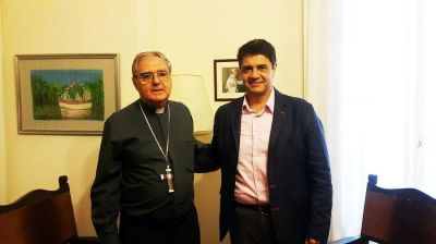 Jorge Macri entregó subsidio anual para obras diocesanas